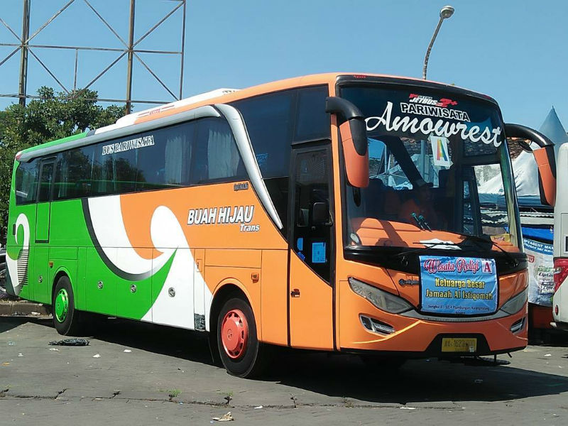 Sewa Bus Pariwisata Sragen - Bus Buah Hijau Trans