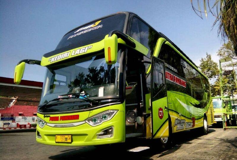 Sewa Bus Pariwisata di Kediri - Bus PUTRA PAMENANG