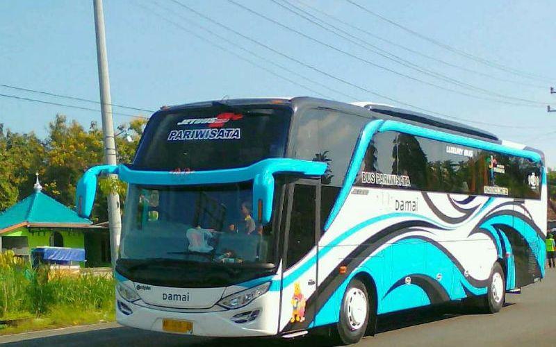 Sewa Bus Pariwisata di Klaten - Bus Damai