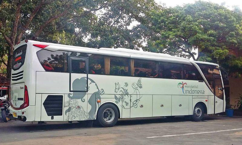 Sewa Bus Pariwisata di Magelang - Bus Maranatha