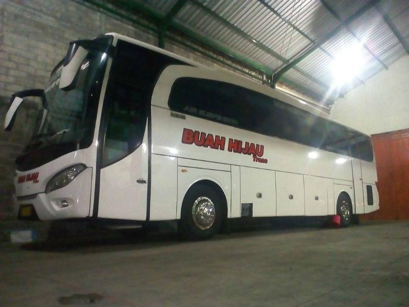 Sewa Bus Sragen - Bus Buah Hijau Trans