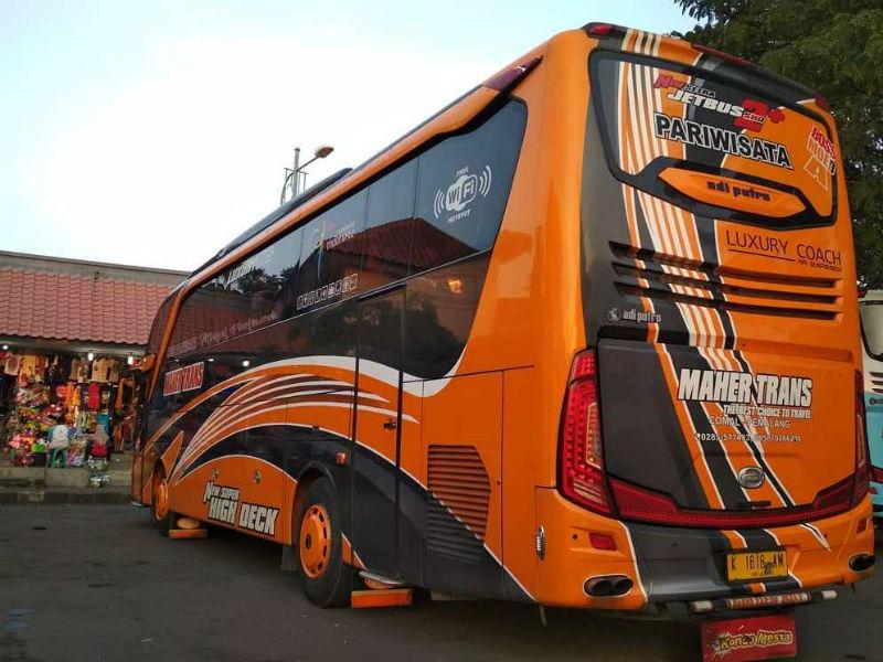 Bus Pariwisata Pemalang - Maher Trans