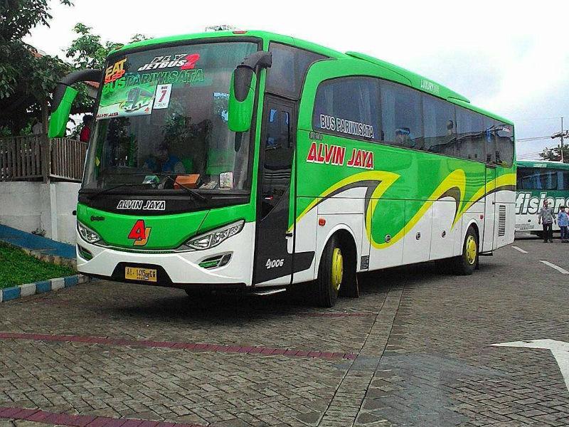 Bus Pariwisata Sidoarjo - Alvin Jaya