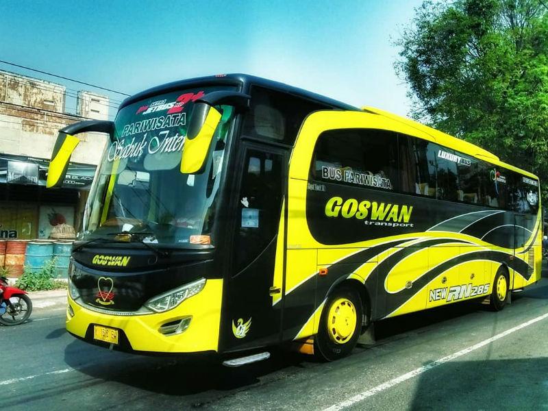 Bus Pariwisata Sidoarjo - Goswan
