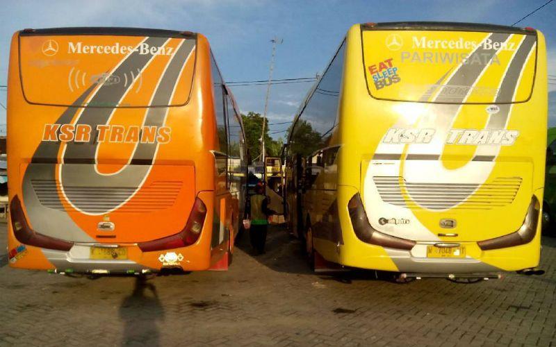 Bus Pariwisata Sidoarjo - KSR Trans