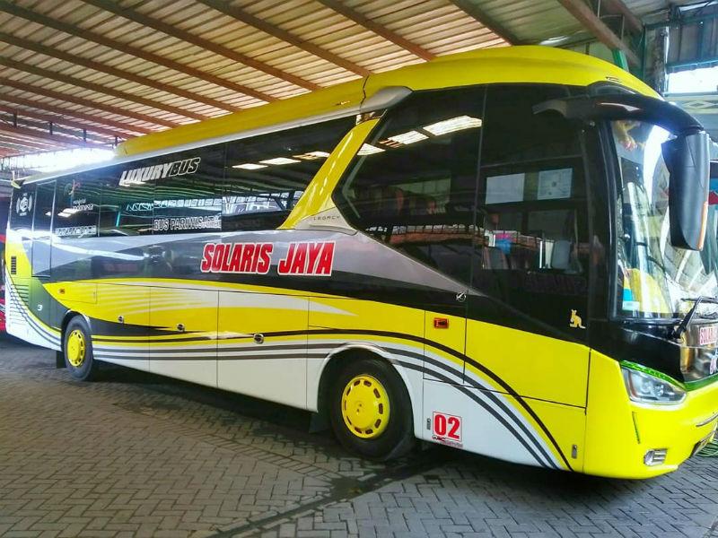 Bus Pariwisata Sidoarjo - Solaris Jaya