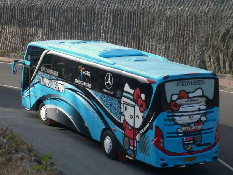 Bus Pariwisata Wonogiri - Tunas Merapi