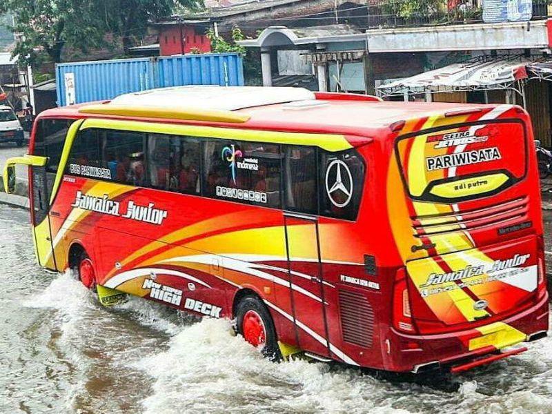 Bus Pariwisata Wonosobo - Jamaica Junior