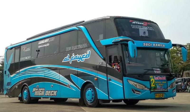 Bus Wonosobo - Al Fayed