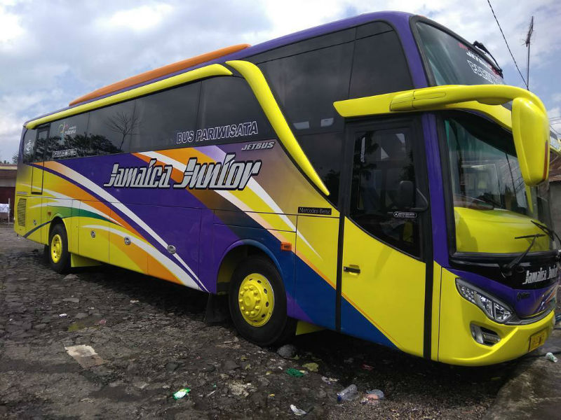 Bus Wonosobo - Jamaica Junior