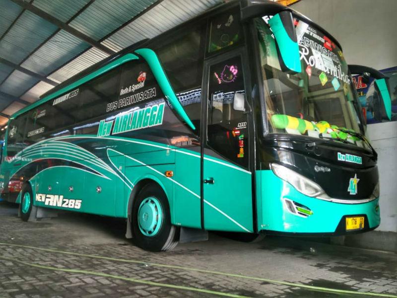 Sewa Bus Pariwisata - Airlangga
