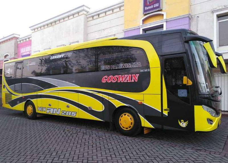 Sewa Bus Pariwisata - Goswan