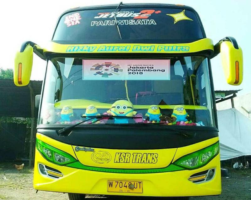 Sewa Bus Pariwisata - KSR Trans