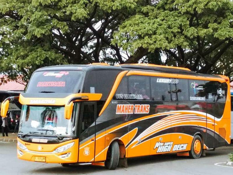Sewa Bus Pariwisata - Maher Trans