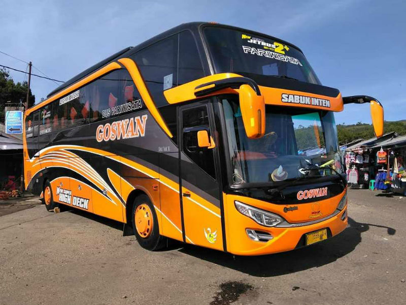 Sewa Bus Pariwisata Sidoarjo - Goswan