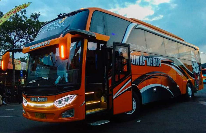 Sewa Bus Pariwisata - Tunas Merapi