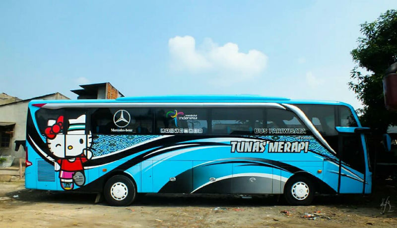 Sewa Bus Wonogiri - Tunas Merapi