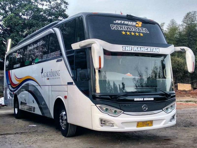 Bus Pariwisata Bandung - Gagak Rimang