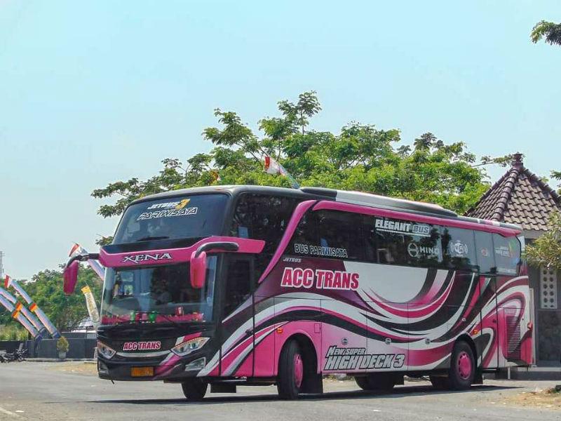 Bus Pariwisata Gresik - ACC Trans