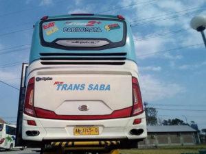 Bus Pariwisata Madiun - Trans Saba