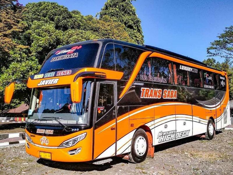 Bus Pariwisata - Trans Saba