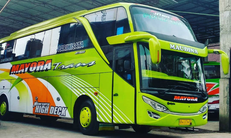 Sewa Bus - Mayora Trans