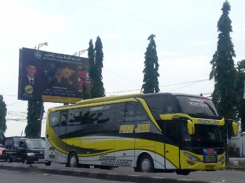 Sewa Bus Pariwisata - Ferdi Jaya