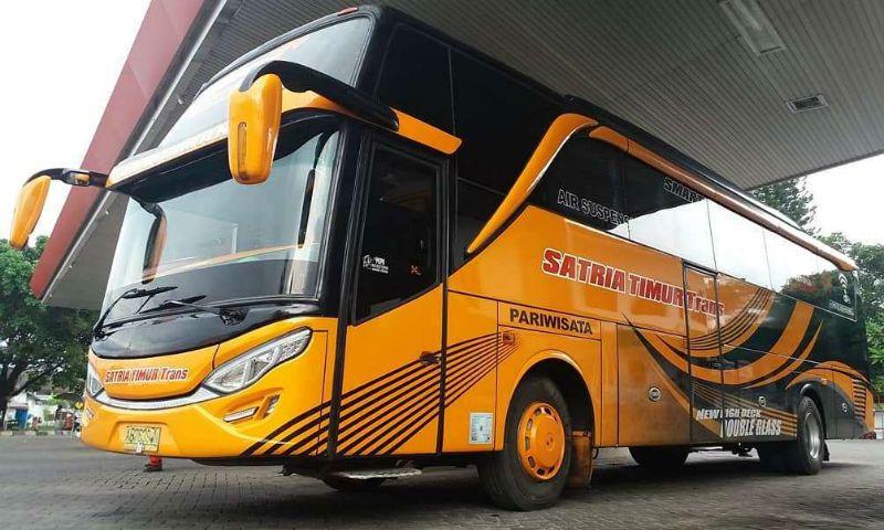 Sewa Bus Pariwisata Jember - Satria Timur Trans
