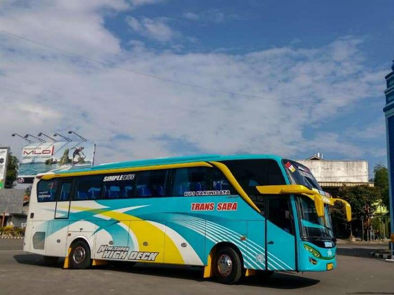 Sewa Bus Pariwisata - Trans Saba